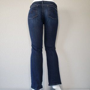 White House Black Market Jeans - WHBM | Mid Rise Dark Blue Wash Boot Leg Jeans 12